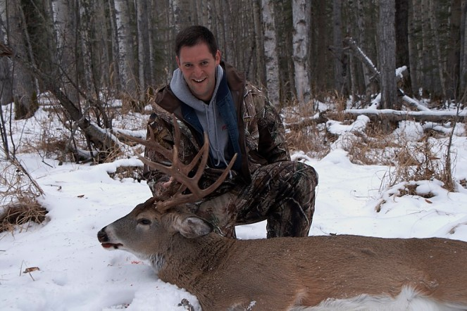Aaron P-Whitetail, November 26,2011