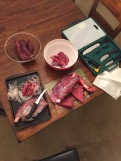 Butchering your Elk
