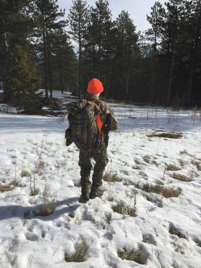 Elk Hunting - Walking (My preferred option)
